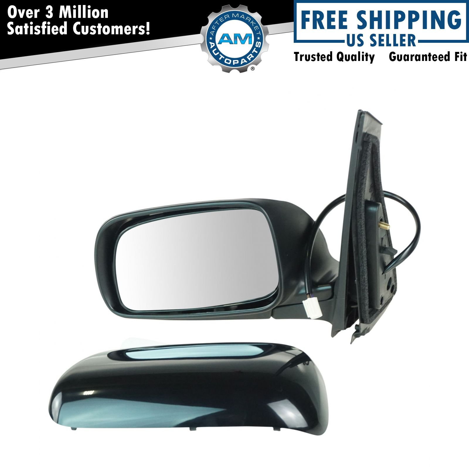 FOR 09-13 TOYOTA COROLLA OE STYLE POWER+HEATED LEFT SIDE REAR VIEW DOOR MIRROR