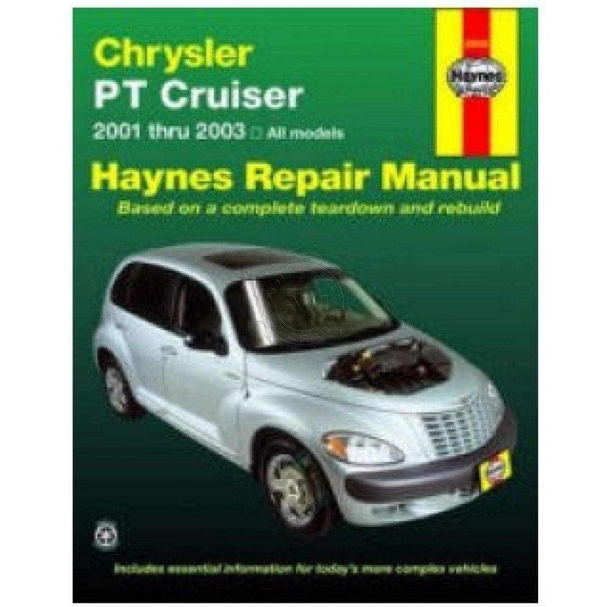 Haynes Repair Manual for Chrysler PT Cruiser 2001 2002 2003