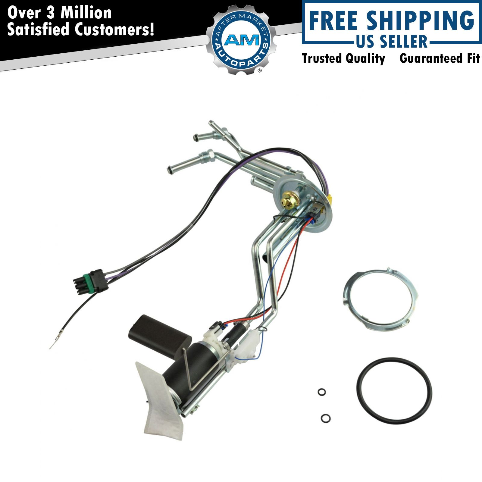 Delphi Hp10001 Electric Fuel Pump Sending Unit Assembly For Gm Truck Brand New