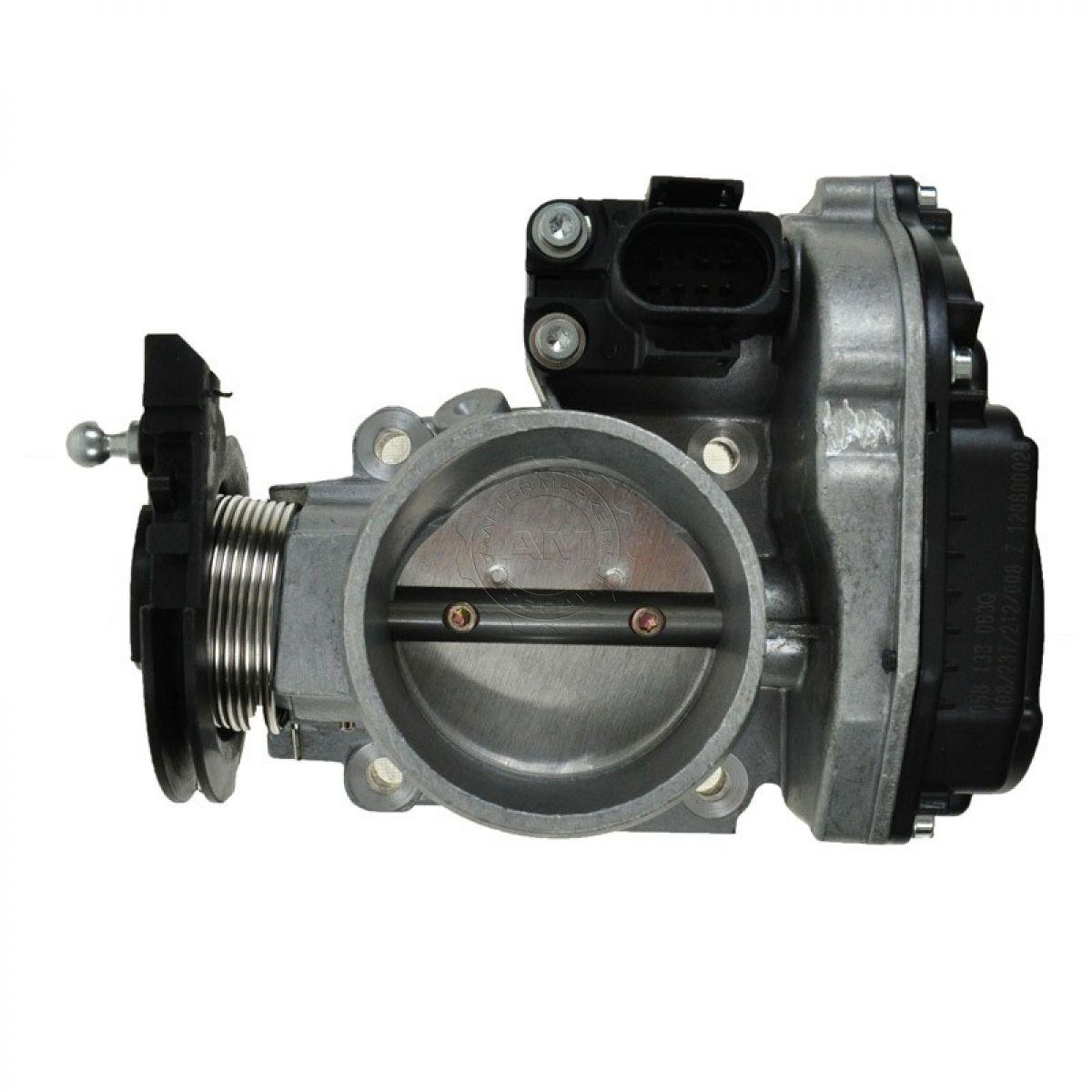 throttle body assembly new for audi a4 vw passat 1 8l turbo ebay rh ebay com Audi A4 Throttle Body Cable 1999 Audi A4
