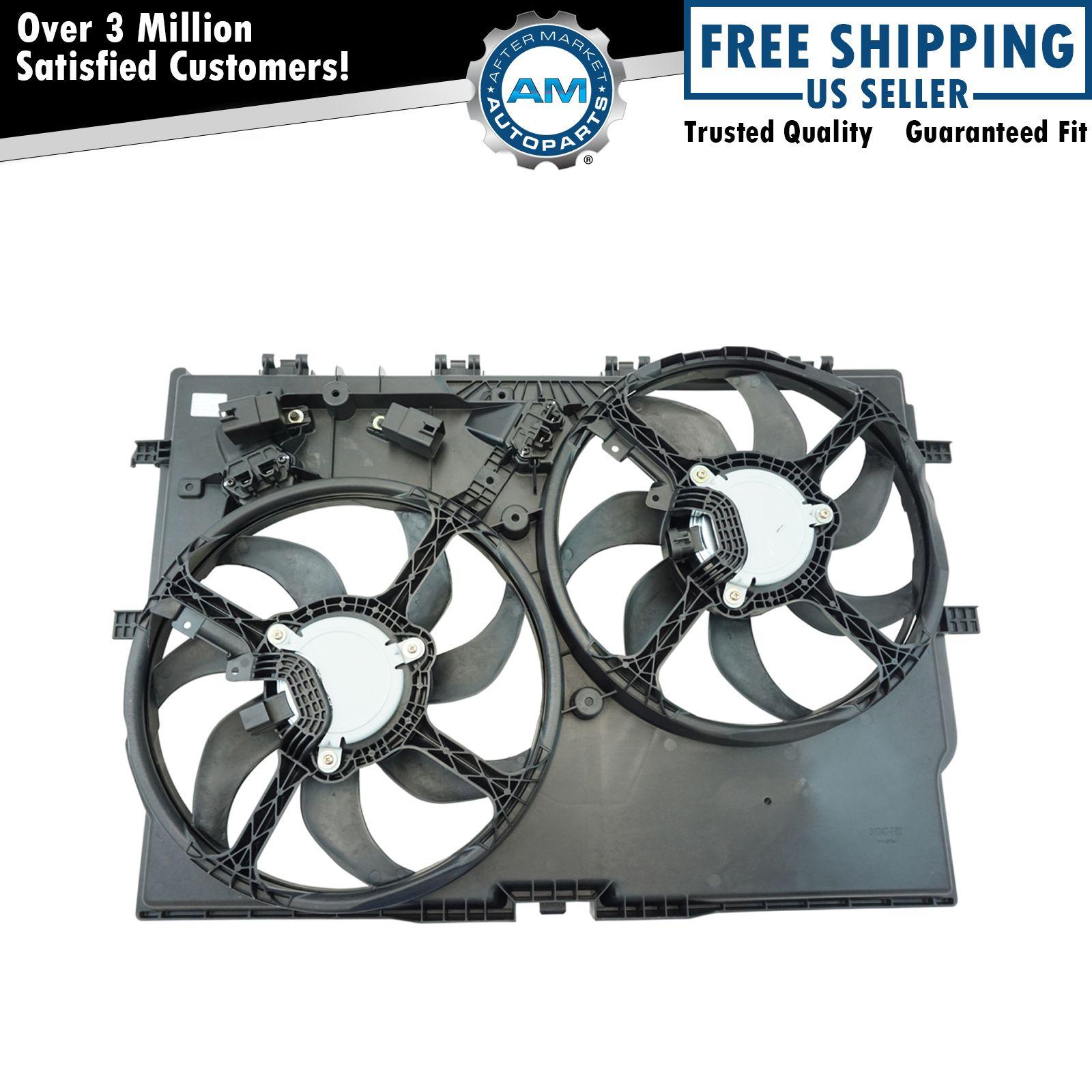 Radiator Fan Assembly For 14-18 Ram ProMaster 1500 3500 2500 3.6L V6 MS31S2