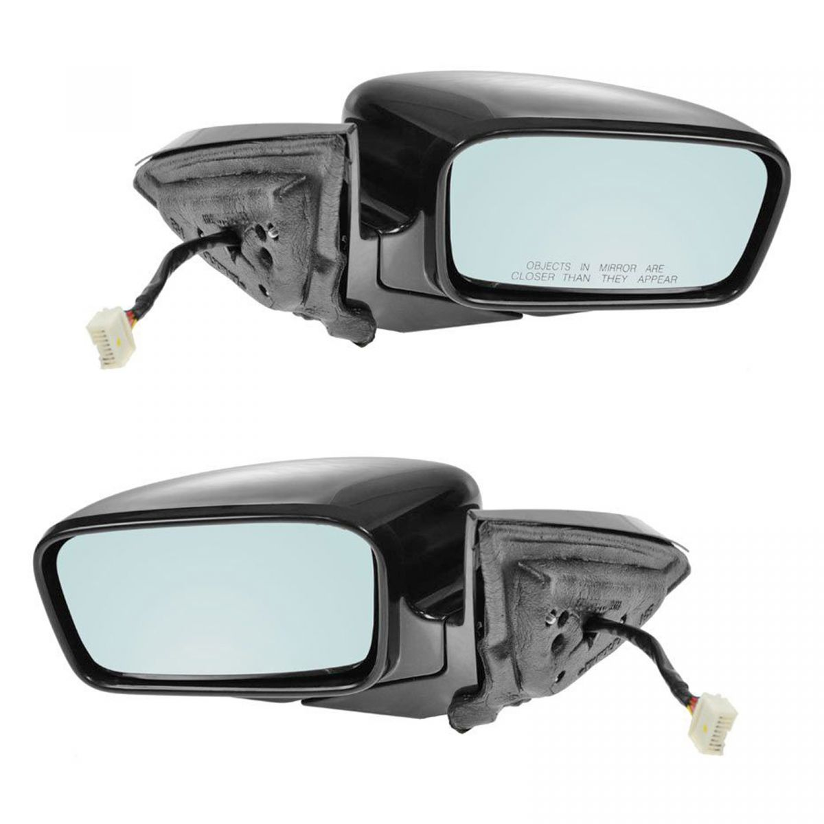 Power Heated Memory Side Mirrors W/ Blue Tint Lens Pair