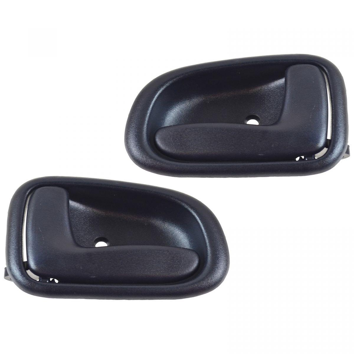 Pair Inside Interior Door Handle Left Right Beige For for Toyota Corolla