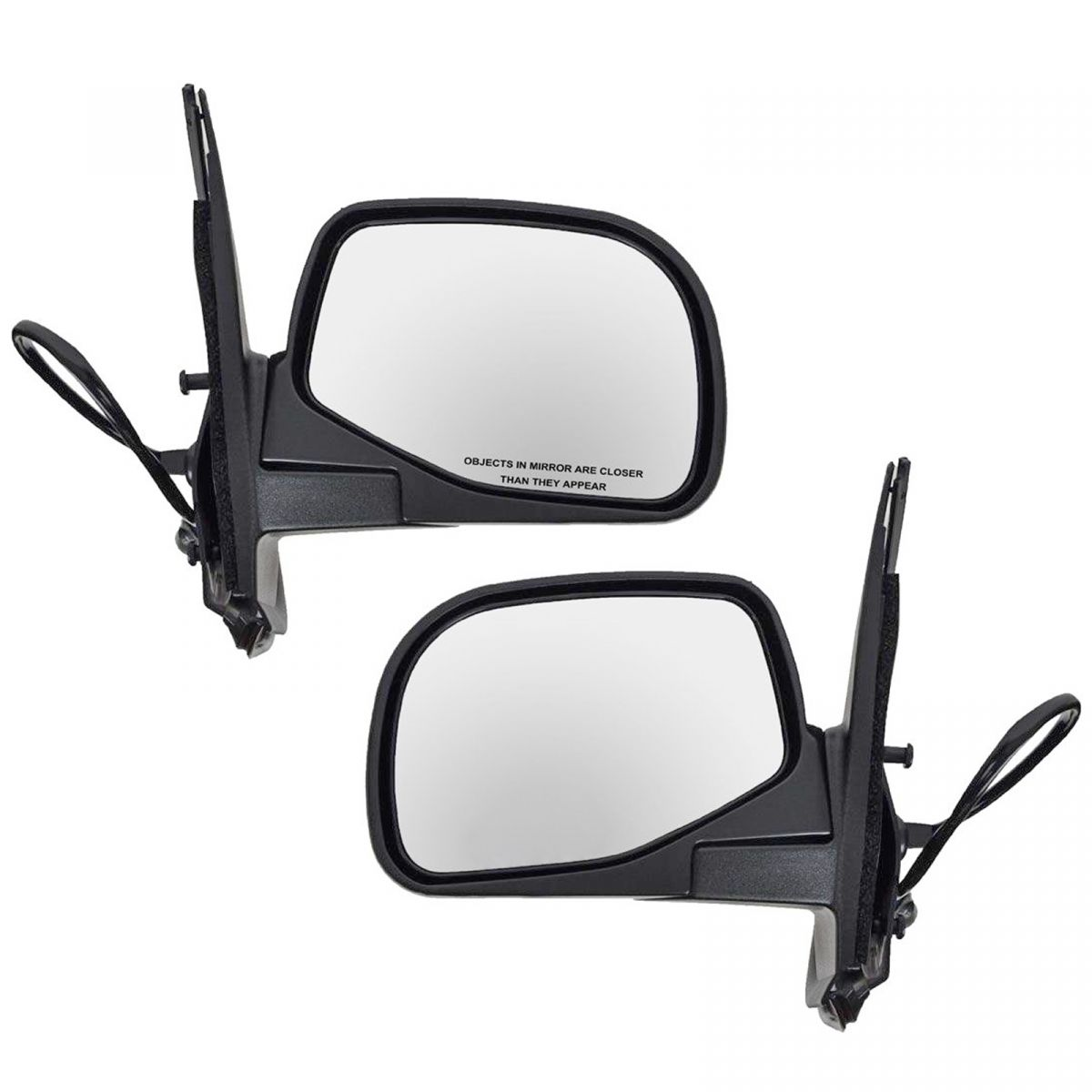 Heated Power Side Mirrors Pair Set Left Lh Right Rh For 95 01 Ford Explorer Ebay