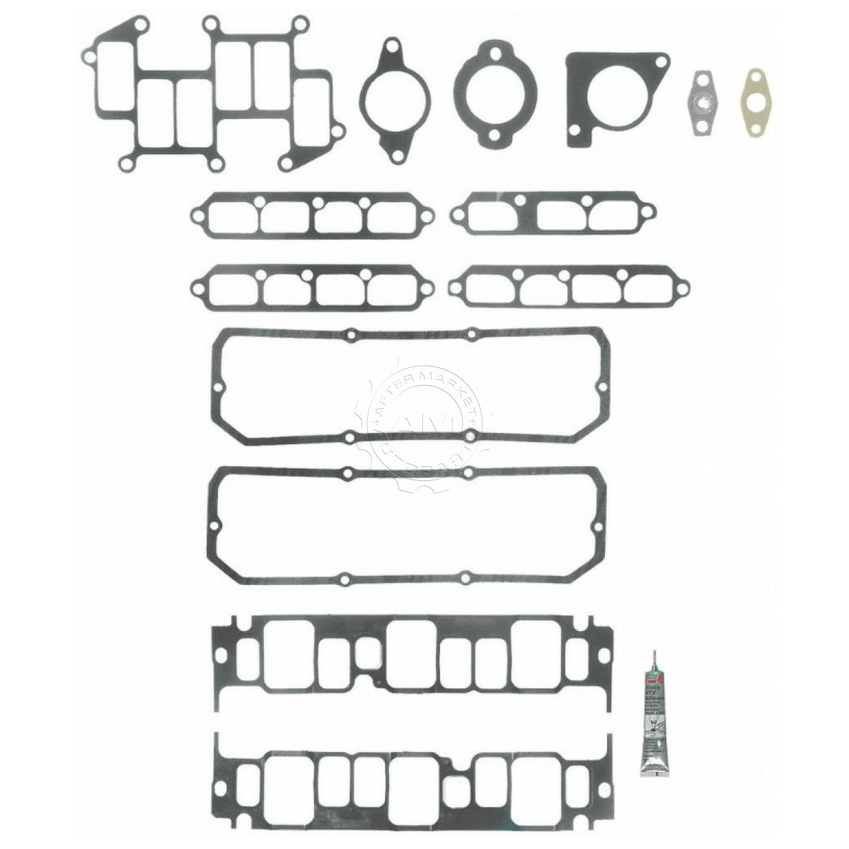 felpro ms93020 intake manifold gasket kit set for chevy pontiac buick 2 8l  3 4l