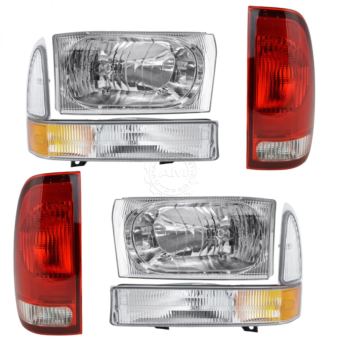Headlight Tail Light Parking Marker Lamp For 02 04 Ford Super Duty 2004 F 250 Bulbs Truck New