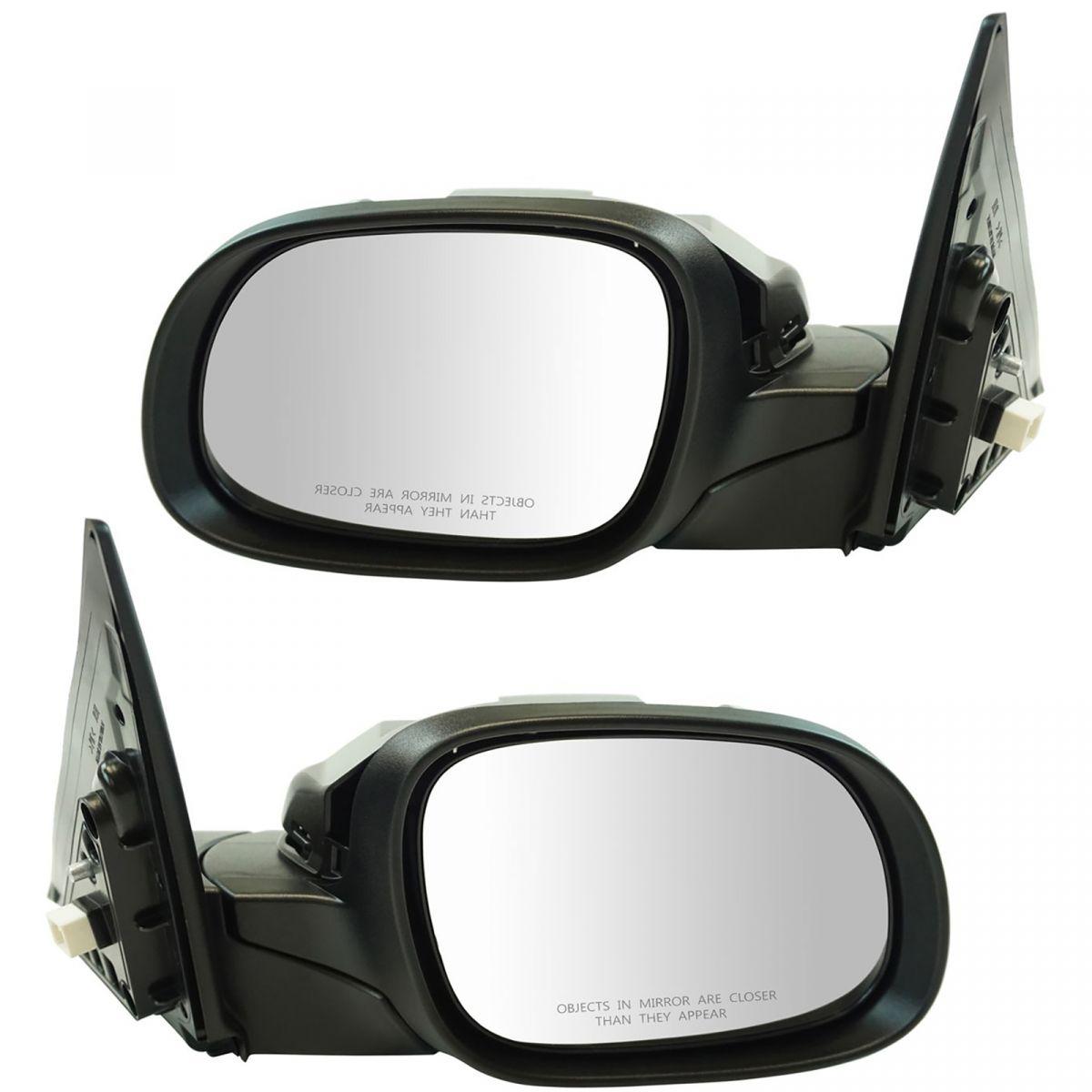 Mirror Power Turn Signal Smooth Black Passenger Side Right RH for Kia Soul New