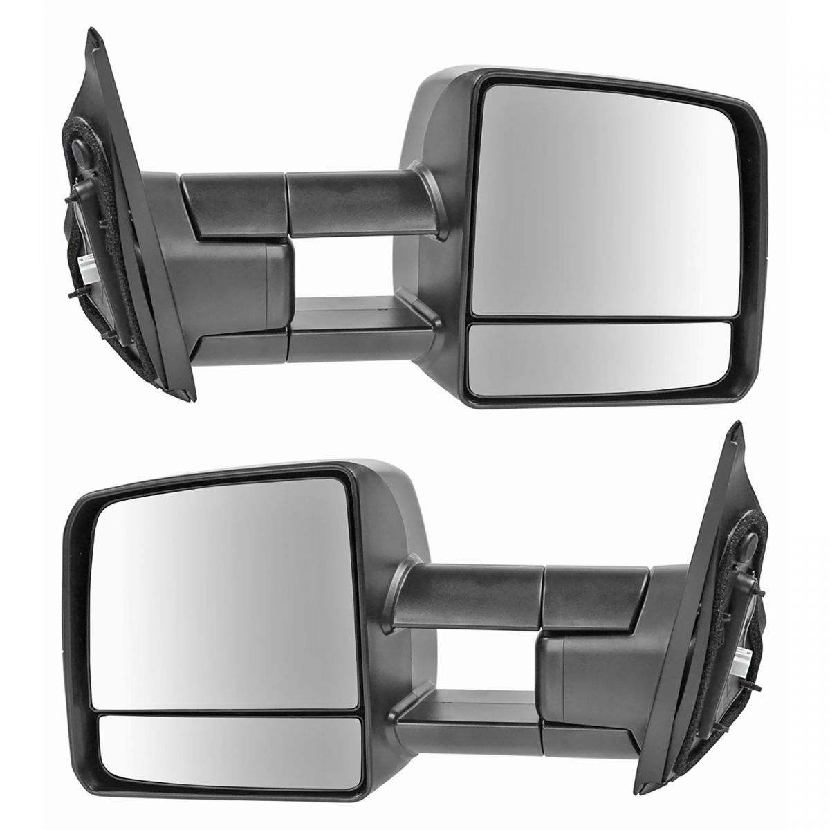 RH Passenger Tow Power Heated Signal Side Mirrors for 07-16 Toyota Tundra Truck