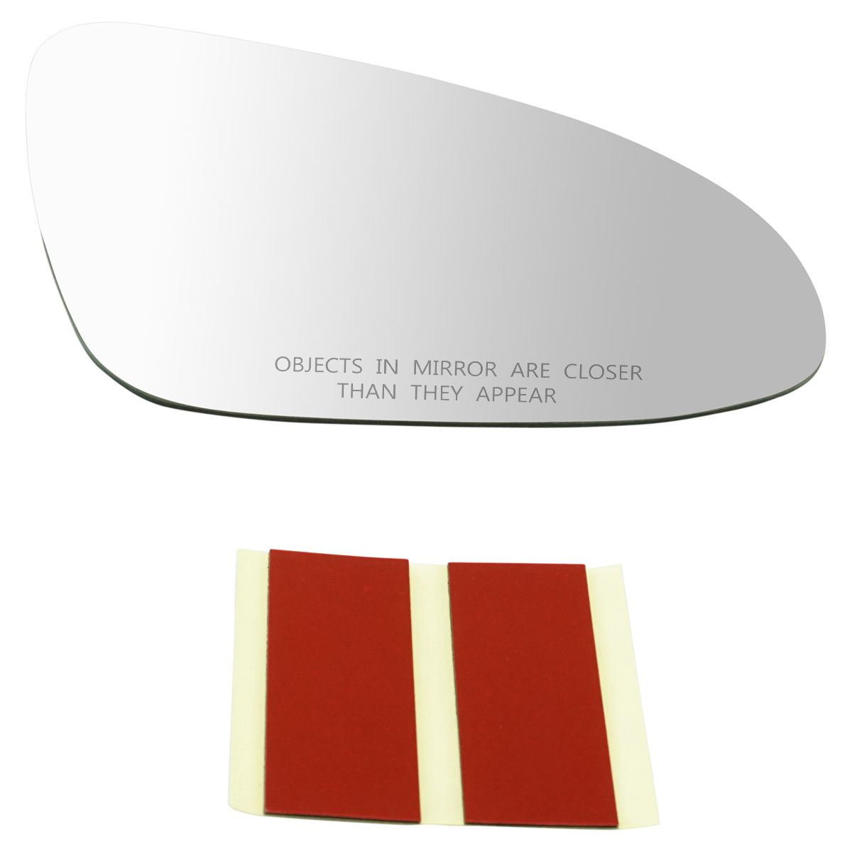 REPLACEMENT MIRROR GLASS WITH BASE PLATE TO FIT Toyota Yaris 06 RH