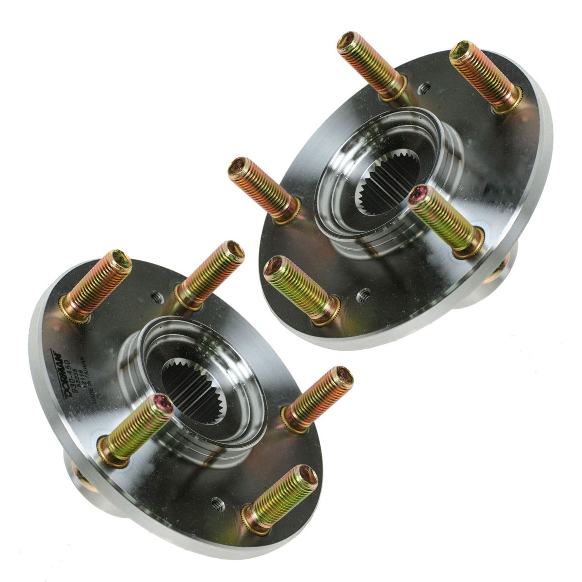 5 Lug Rear Wheel Hub Pair Set For Acura MDX Honda Pilot