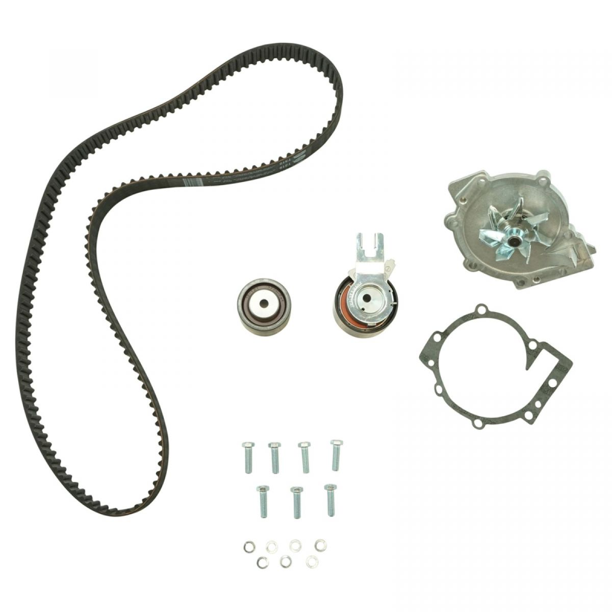 Gates tckwp319 timing belt kit with water pump kit for volvo s80 xc90 2 9l new