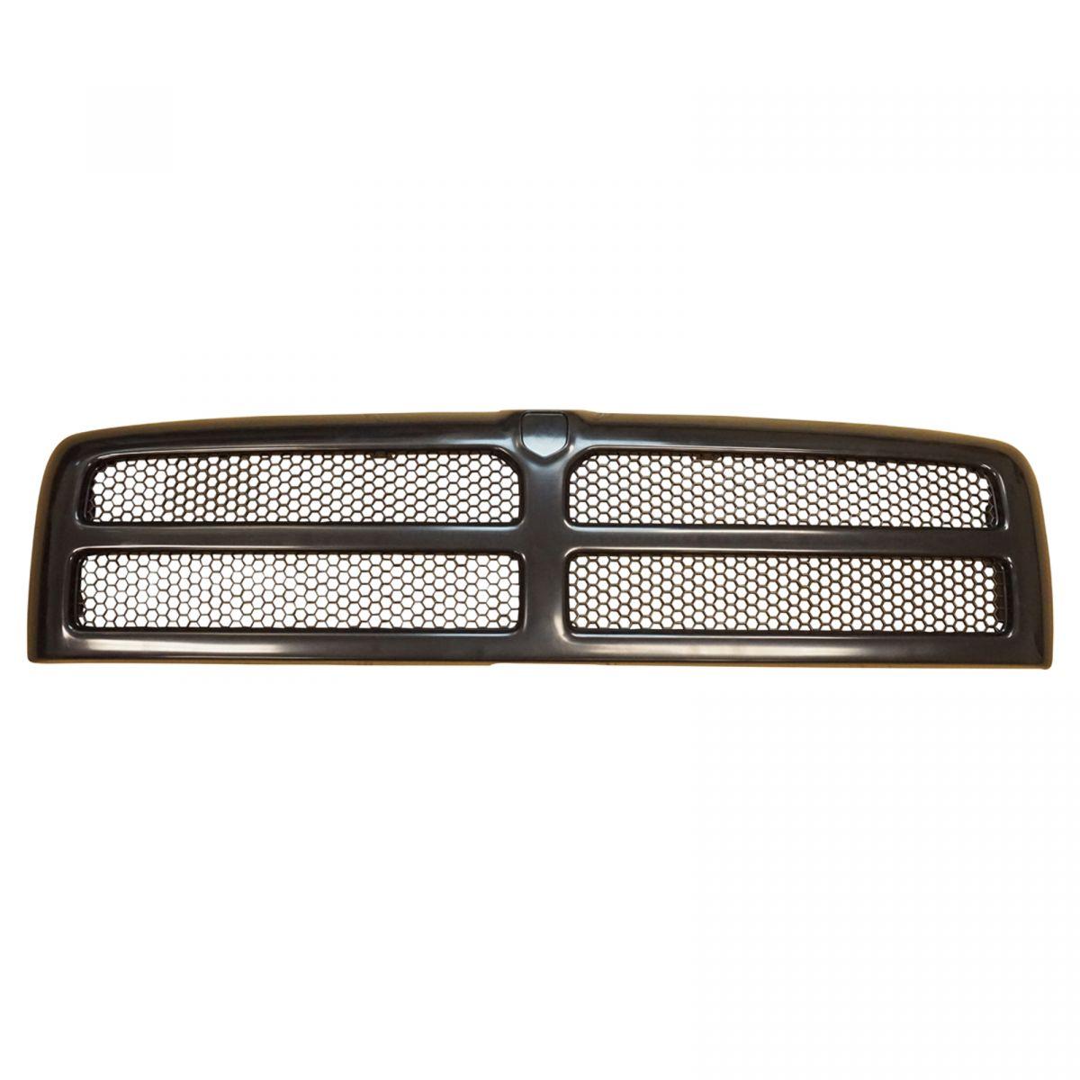 grille grill black front for dodge ram 1500 2500 3500 pickup truck ebay. Black Bedroom Furniture Sets. Home Design Ideas