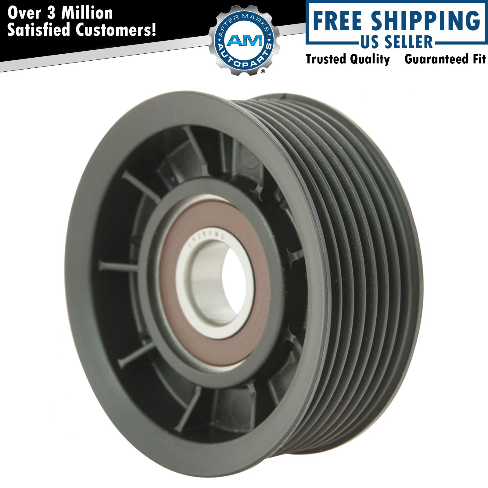 Hemi Serpentine Belt Idler Pulley Grooved For 03 08 Dodge Ram Pickup Truck 5 7l Ebay