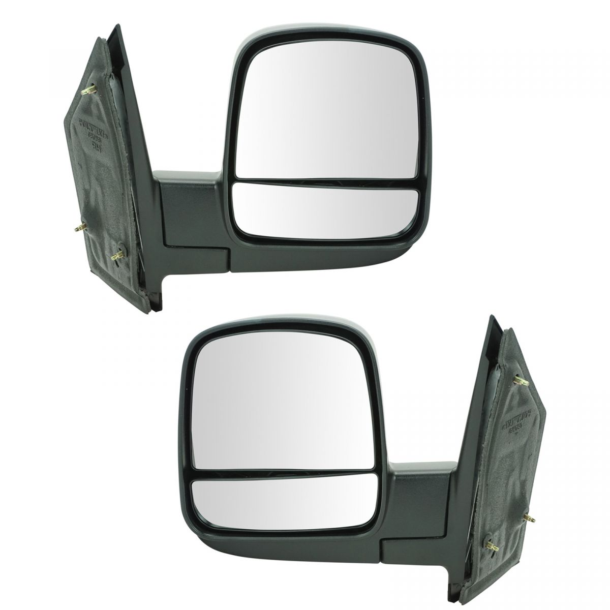 Black Manual Side View Mirrors Left /& Right Pair Set of 2 For 02-06 Altima