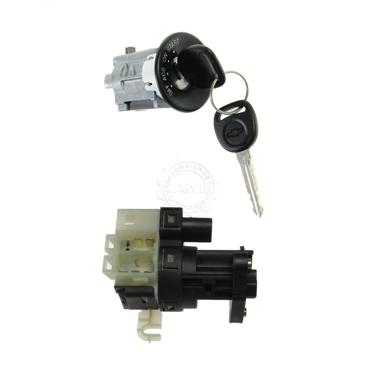 ignition switch lock cylinder w key kit for impala. Black Bedroom Furniture Sets. Home Design Ideas