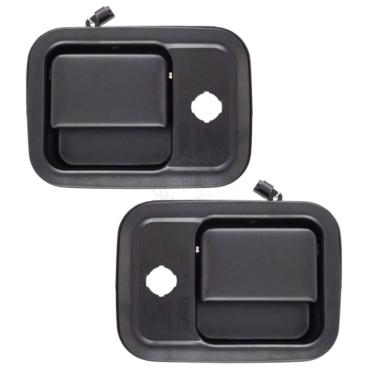 New Front Set Of 2 LH /& RH Exterior Metal Door Handle All Chrome Fits FL112
