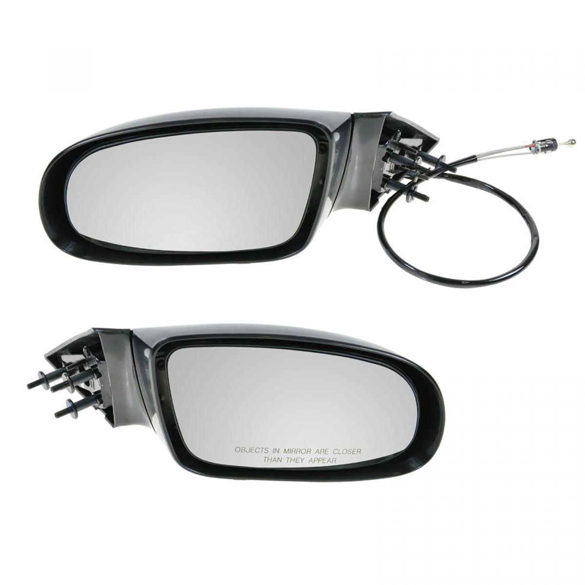 Manual Remote Door Mirror LH Left Driver Side for 95-96 Chevy Caprice Impala