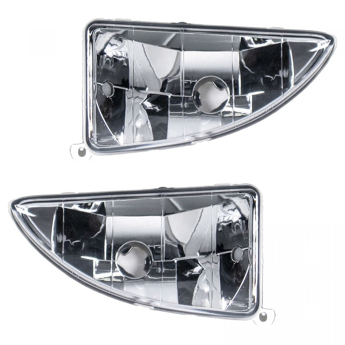Fog Driving Lights Lamps Left & Right Pair Set for 00-04 Ford Focus