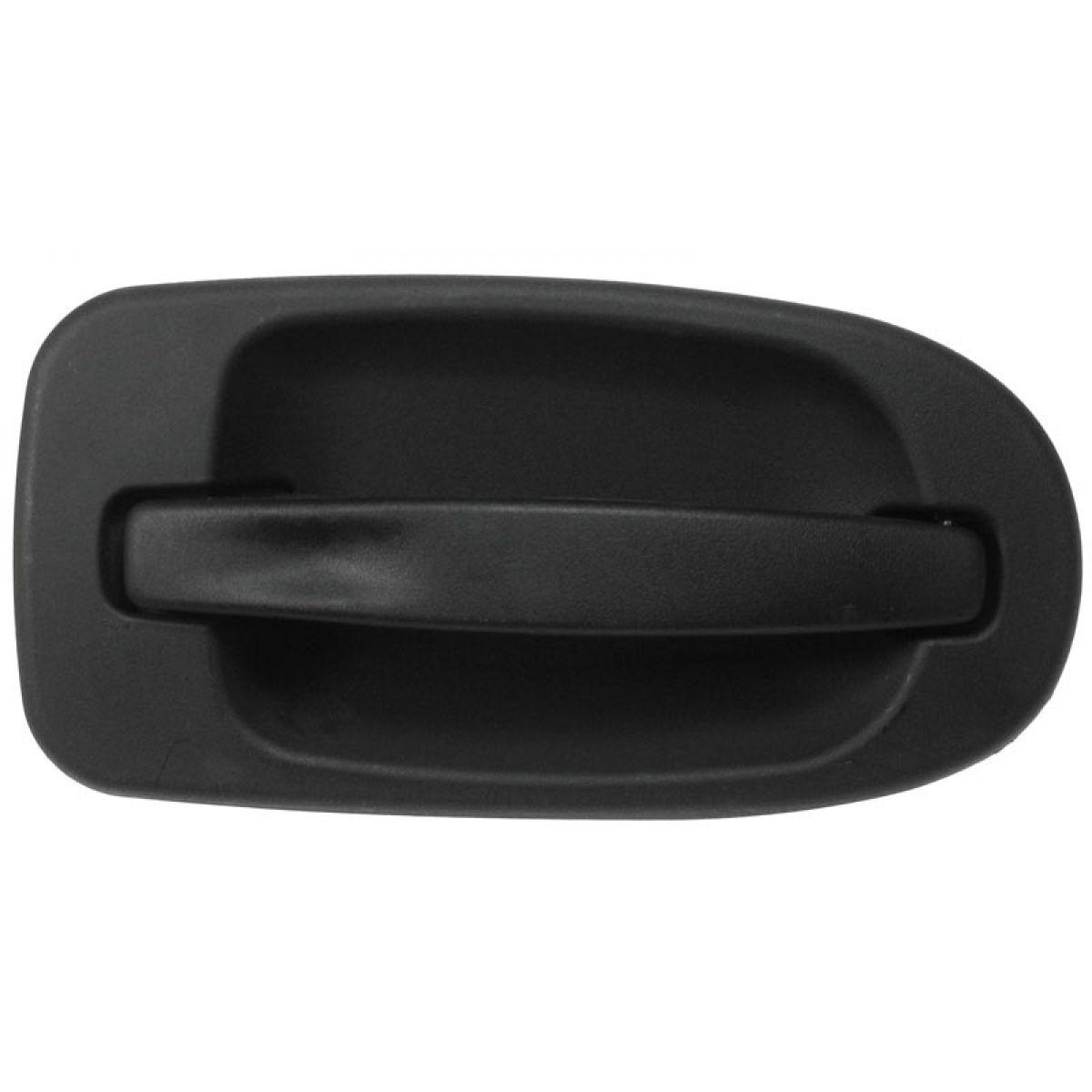 Door Handle Outside Textured Black Front Driver LH for Venture Montana Terraza