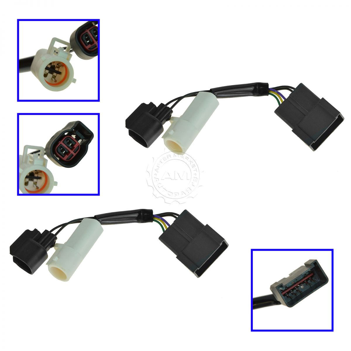 mirrors power heated upgrade harness adapter lh rh pair set for 00 rh ebay  com Ford 7 3 Wiring Harness 2002 Mustang V8 Wiring Harness