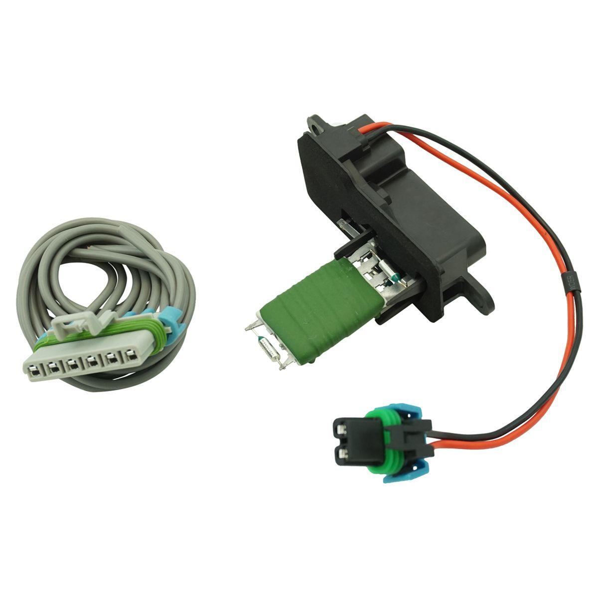 dorman heater blower motor resistor & harness kit for chevrolet gmc isuzu  truck | ebay  ebay