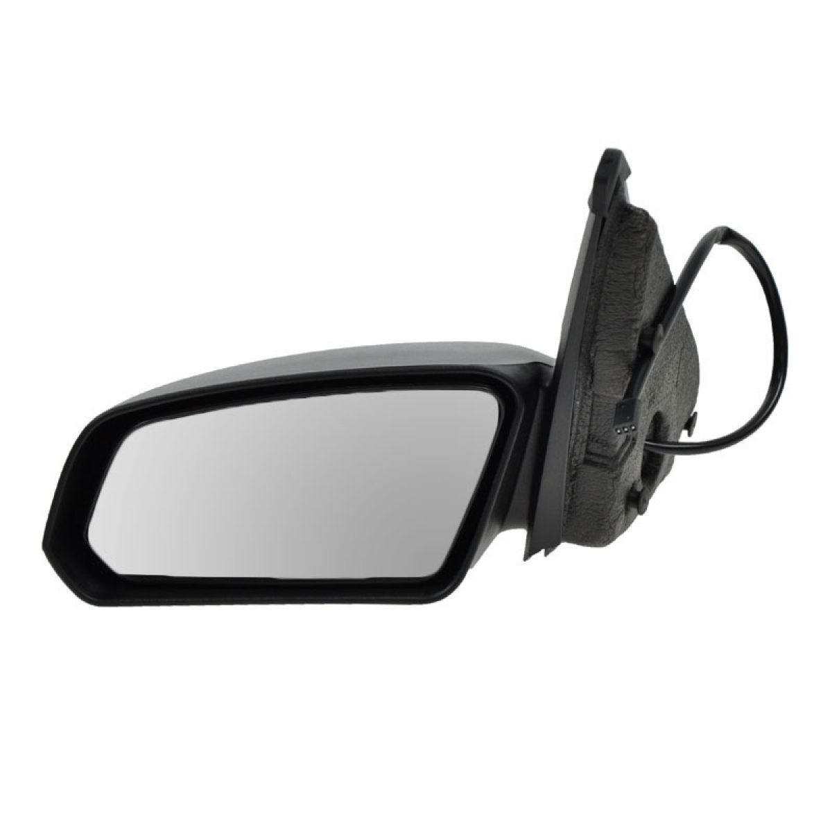 03-07 Saturn Ion Sedan Drivers Side View Power Mirror Textured Assembly