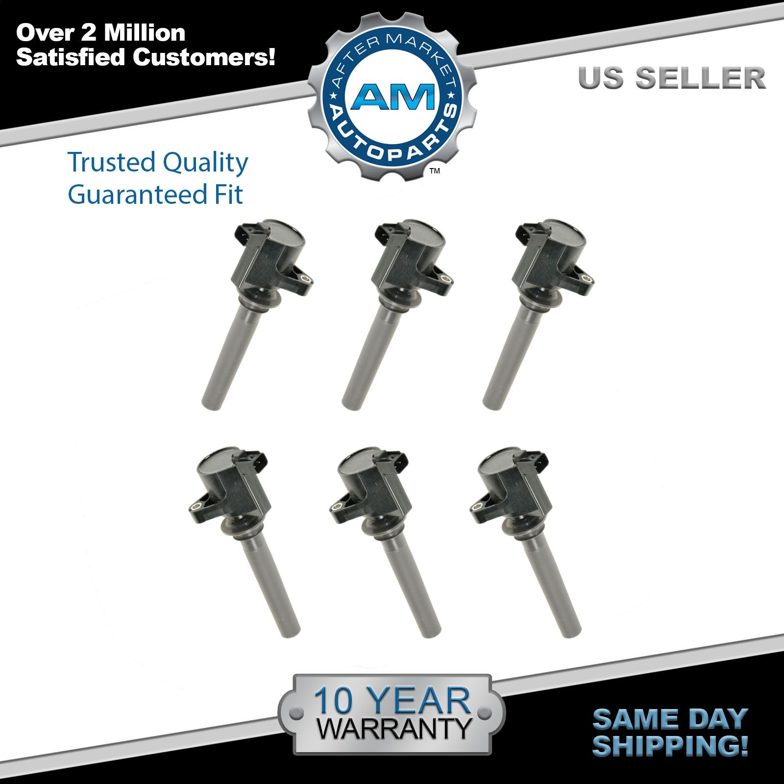 Ignition Coil Order: Ignition Coils Kit Set Of 6 NEW For Ford Taurus Mazda 6 MP