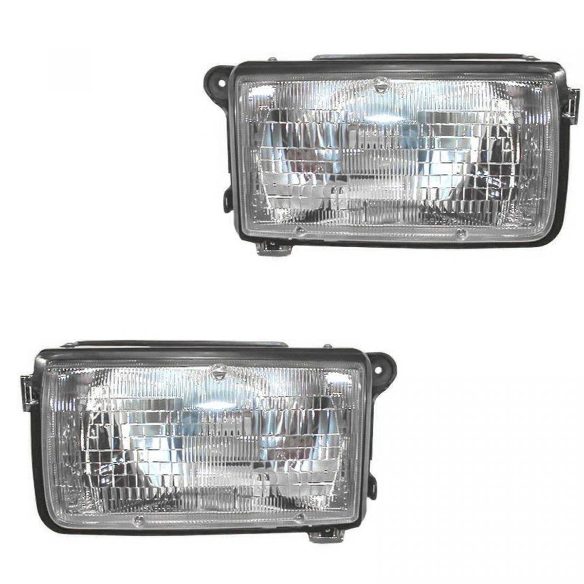Headlight Headlamp Passenger Side Right RH for 98-99 Honda Passport Amigo Rodeo