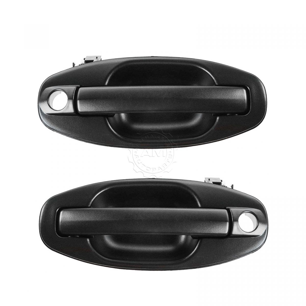 Outside Door Handle Front Left Driver or Right Passenger Black Textured