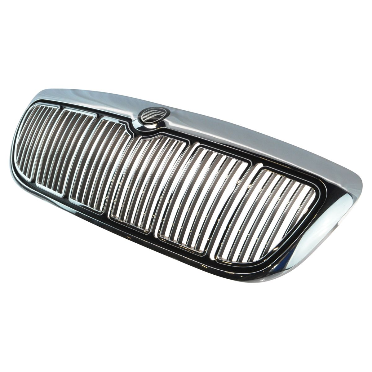 OEM Chrome Grille Assembly w/ Emblem Direct Fit for 98-02 Mercury Grand Marquis