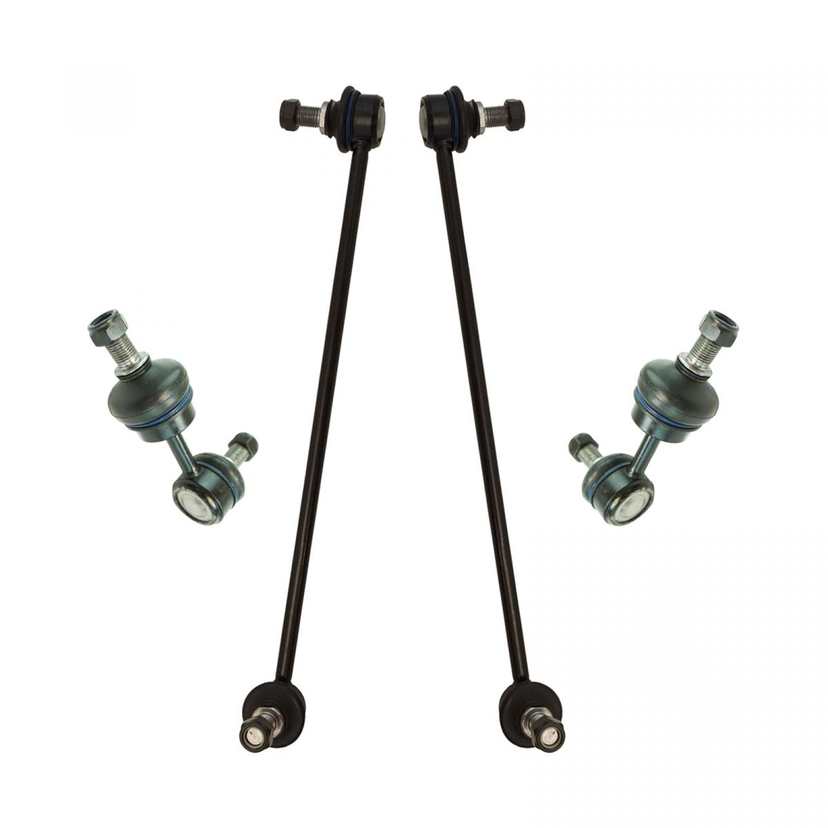 Set 2 Piece Suspension Stabilizer Sway Bar End Link Front,-With 3 Year Warranty