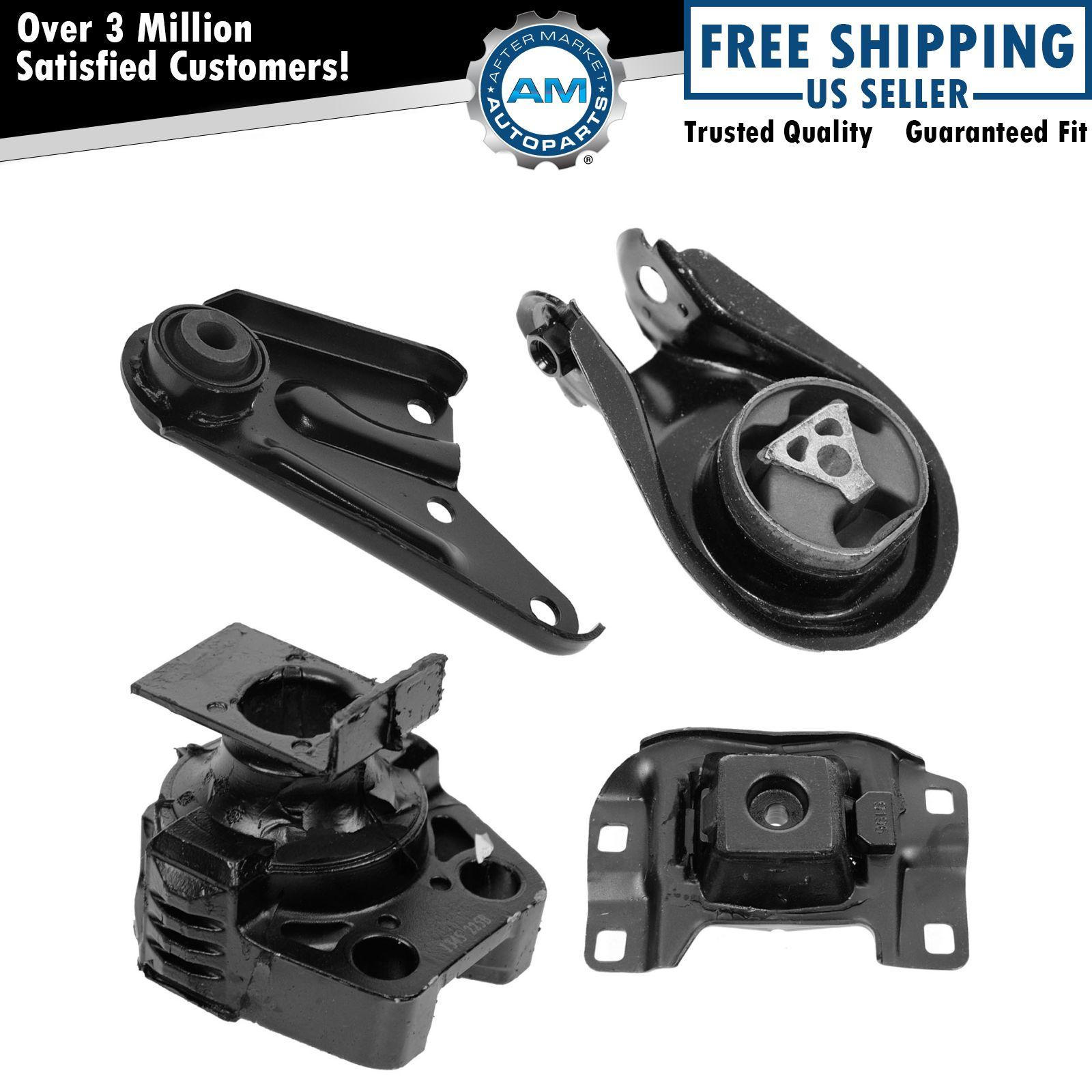 Mazda 6 3 0l Engine Automatic 2005 2008: Engine & Transmission Mount Kit Set Of 4 For Mazda 3 192659125965