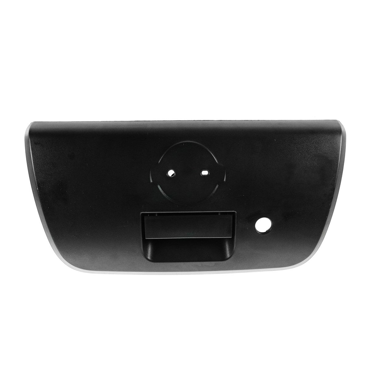 Tailgate Handle with Bezel & Keyhole Textured Black for 01-04 Nissan Frontier