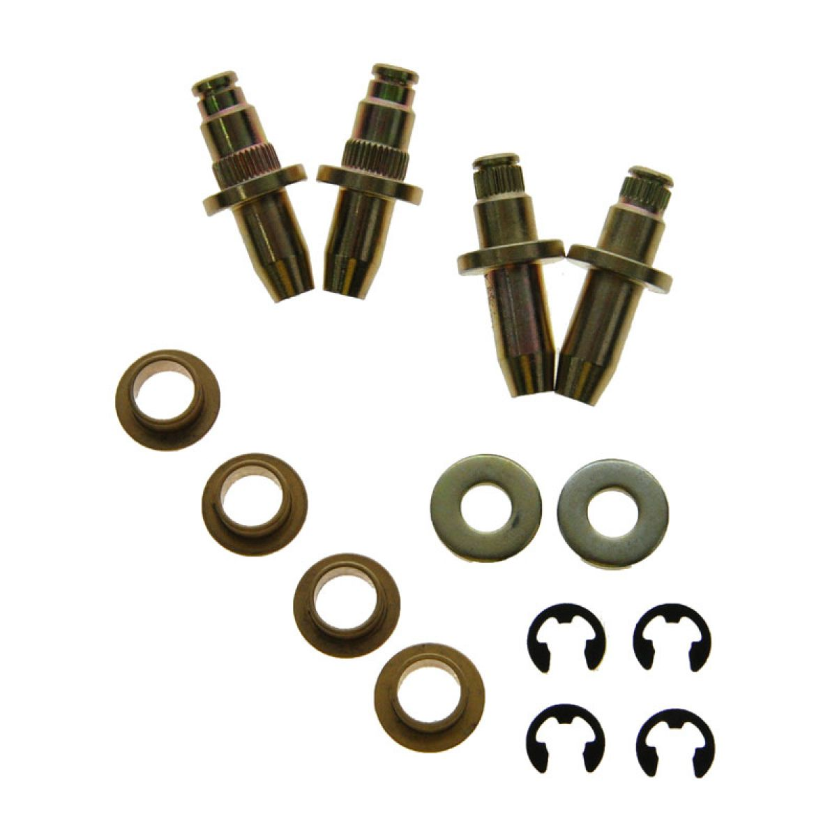 For Cadillac Chevy GMC Front Driver Left Door Hinge Pin and Bushing Kit Dorman