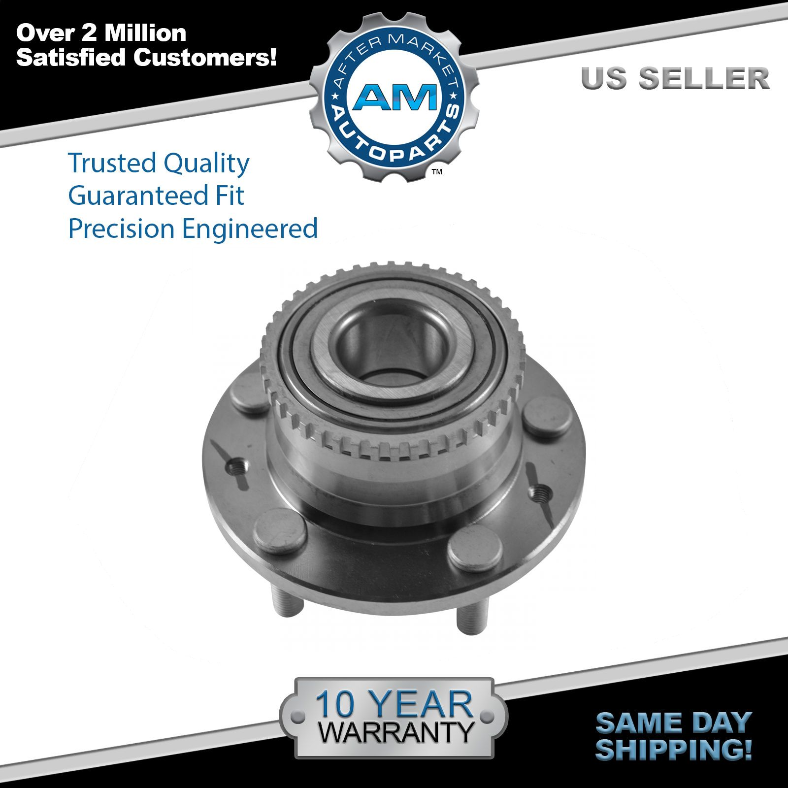 Wheel Bearing and Hub Assembly for Mazda MPV Millenia Protege w/ ABS