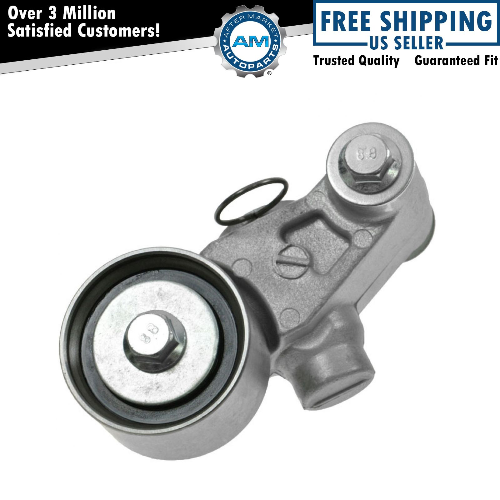 timing belt tensioner assembly w pulley for subaru impreza legacy 2 2l 2 5l ebay. Black Bedroom Furniture Sets. Home Design Ideas