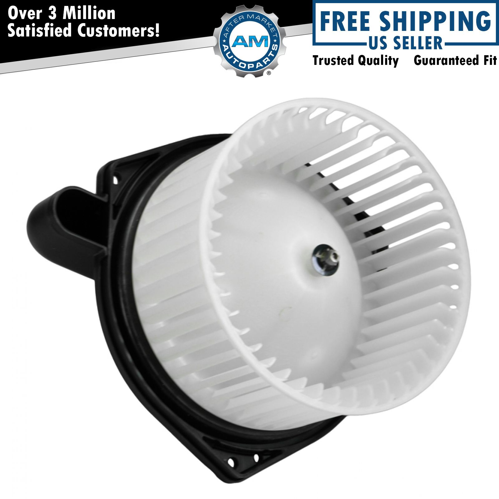 Blower Cage Replacement : Heater blower motor with fan cage for chevy colorado gmc