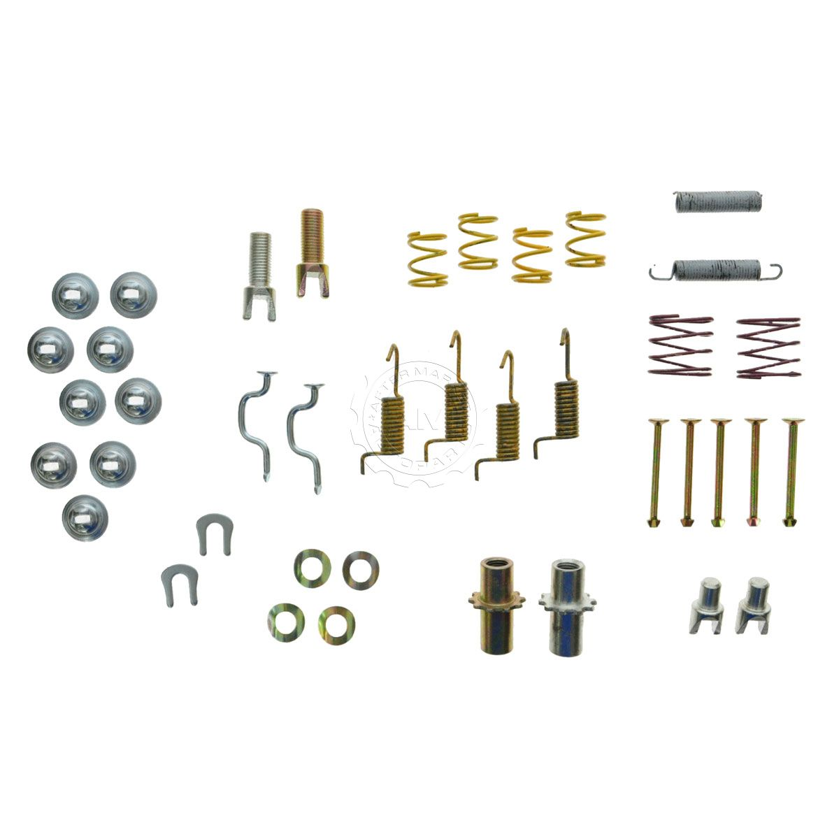 Rear Emergency Parking Brake Shoe Hardware Kit For Es300