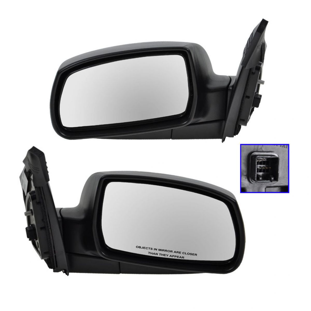Side View Mirrors Power Heated Left /& Right Pair Set for 10-13 Toyota 4Runner