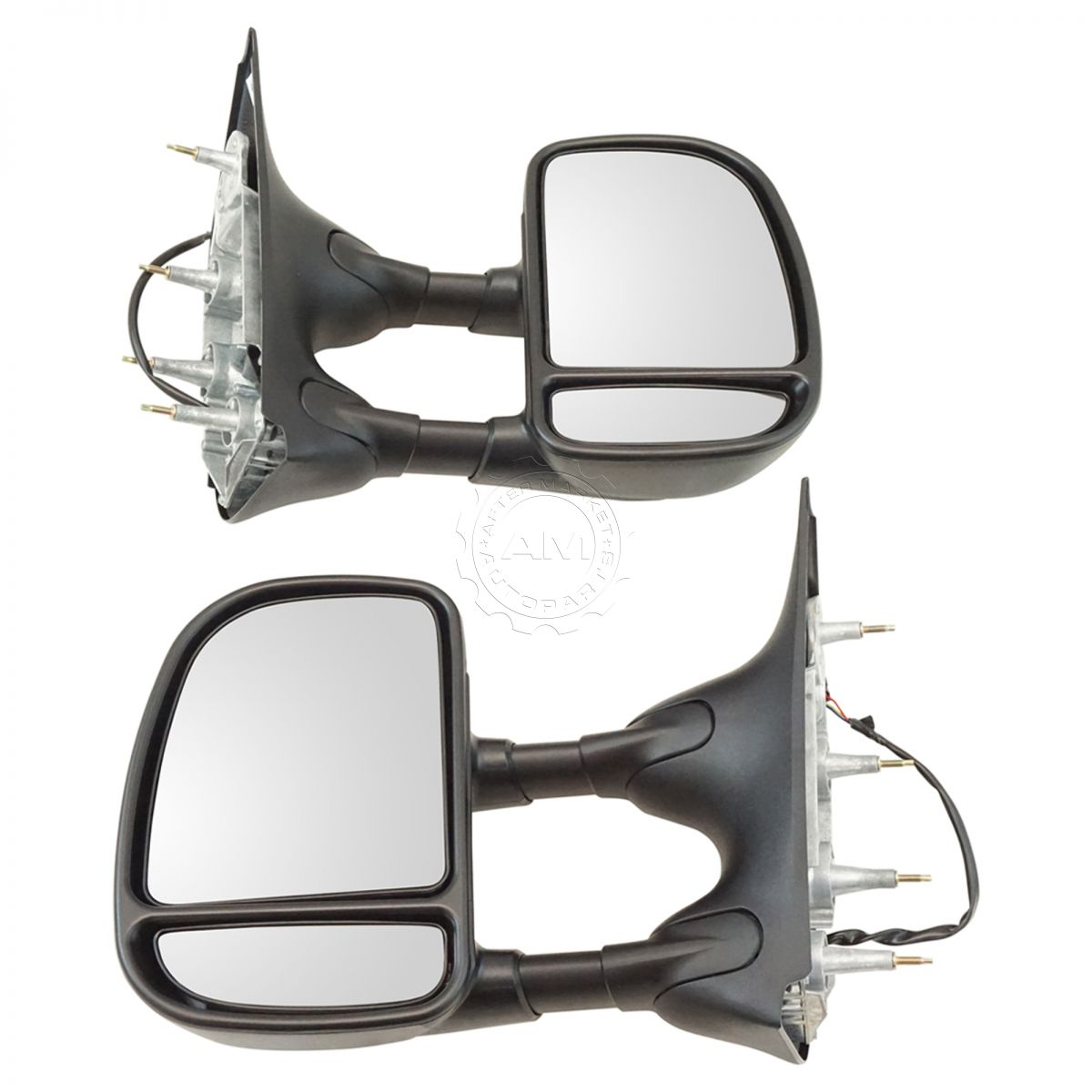 Towing Mirror Power Textured Black Driver Side Left Lh For Ford 1949 Econoline Van