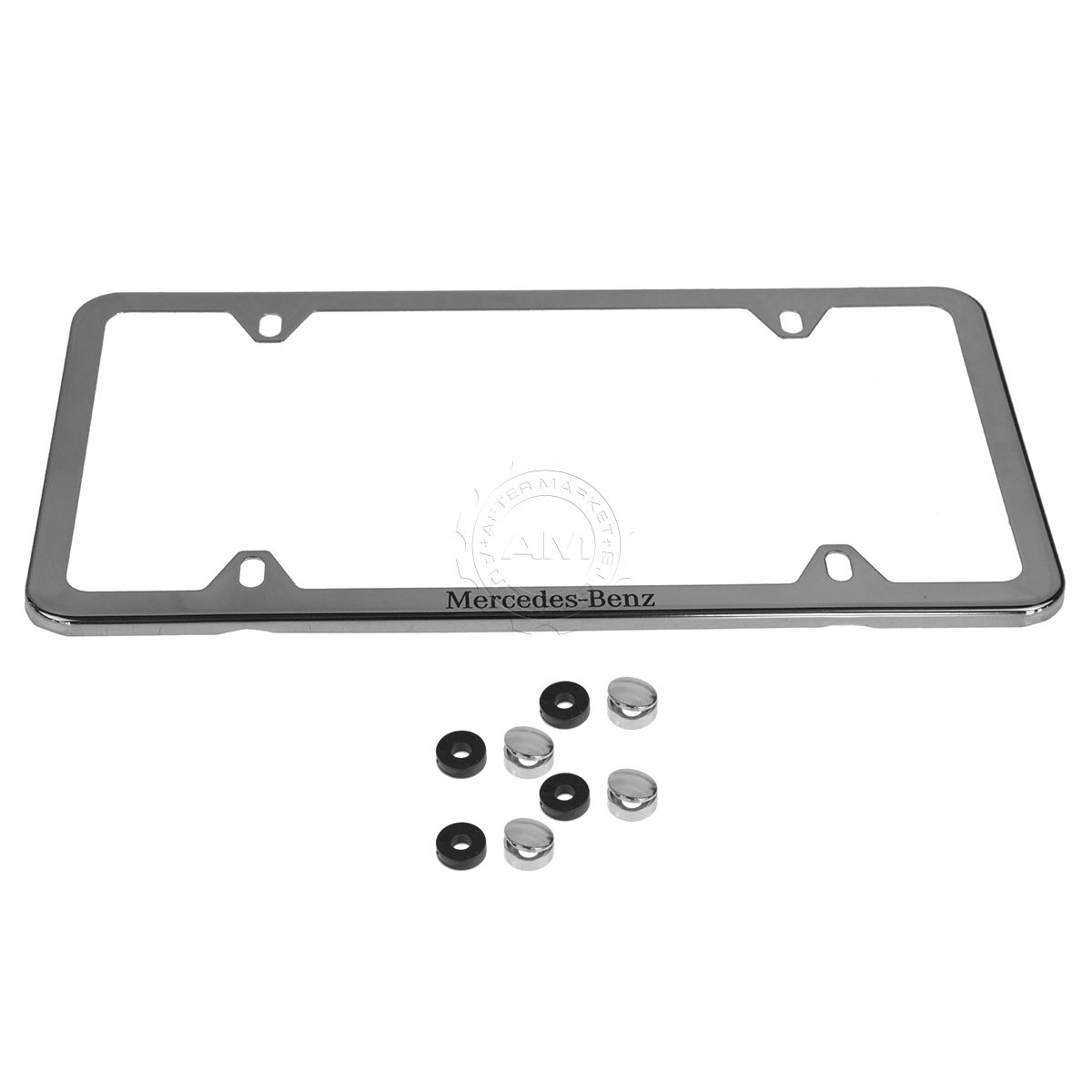 OEM Q6880124 License Plate Frame Polished Stainless Steel for ...