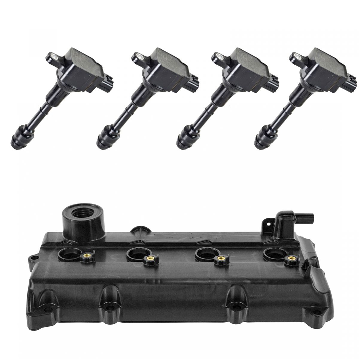 Engine-Valve-Cover-Gaskets-amp-Ignition-Coil-Kit-Set-for-Nissan-Altima-Sentra-New