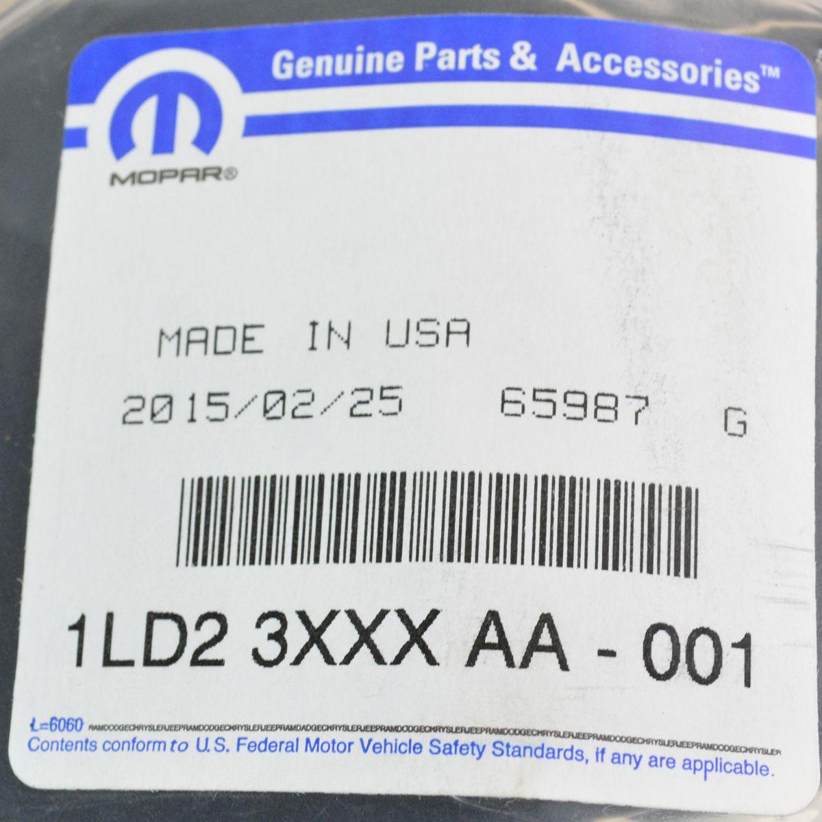 Mopar 1LD23XXXAA Door Foam Cup Holder Insert Left Driver For Ram 1500 2500 3500