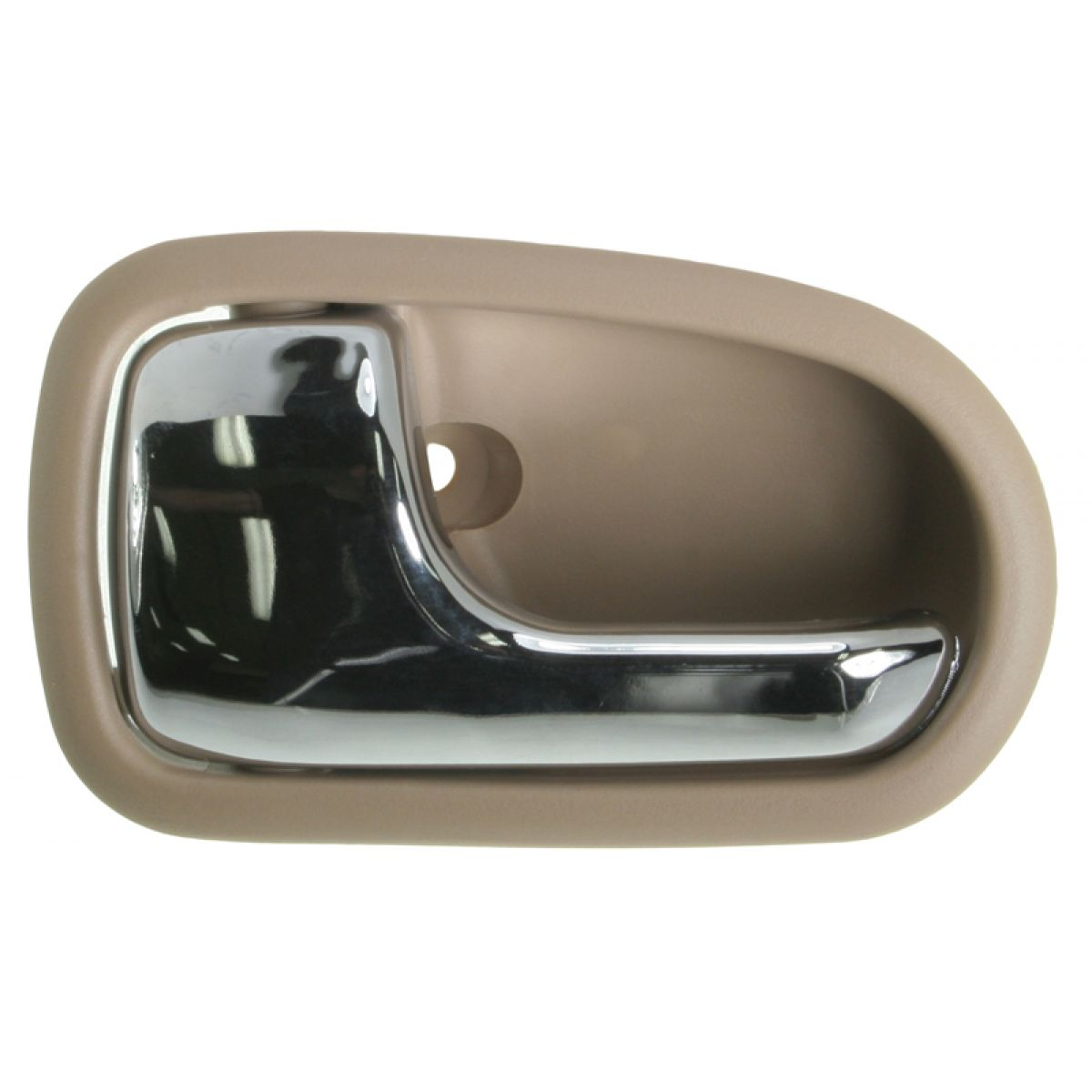 Inner interior inside chrome brown door handle driver left lh for 95 03 protege 192659141491 ebay for 2010 mazda 3 interior door handle