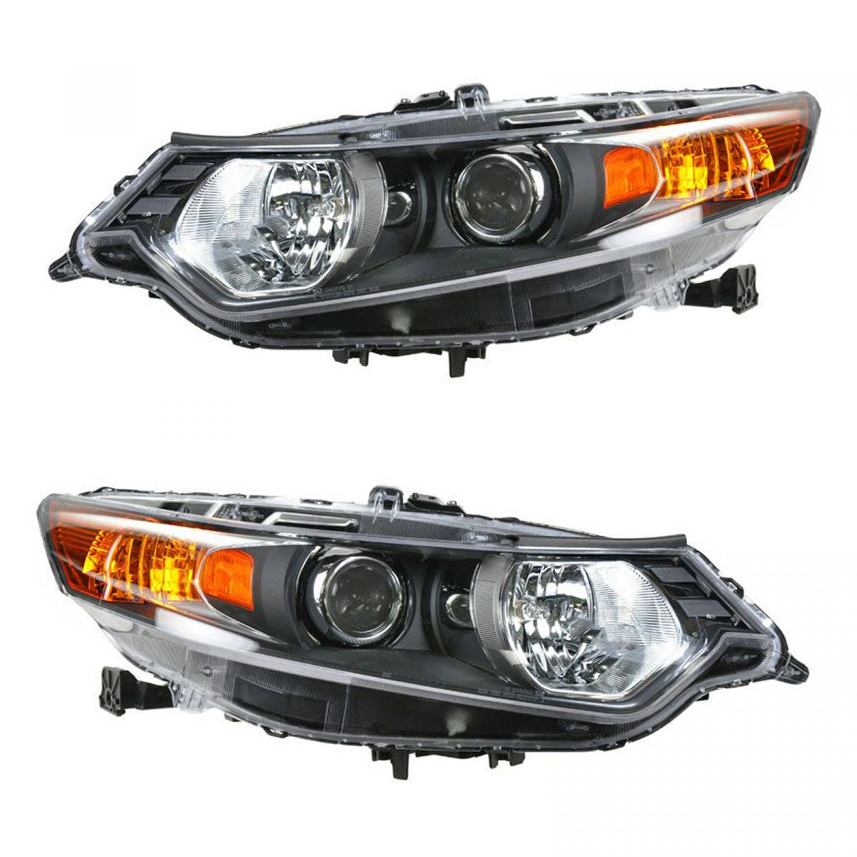 HID Xenon Headlights Headlamps Left & Right Pair Set For