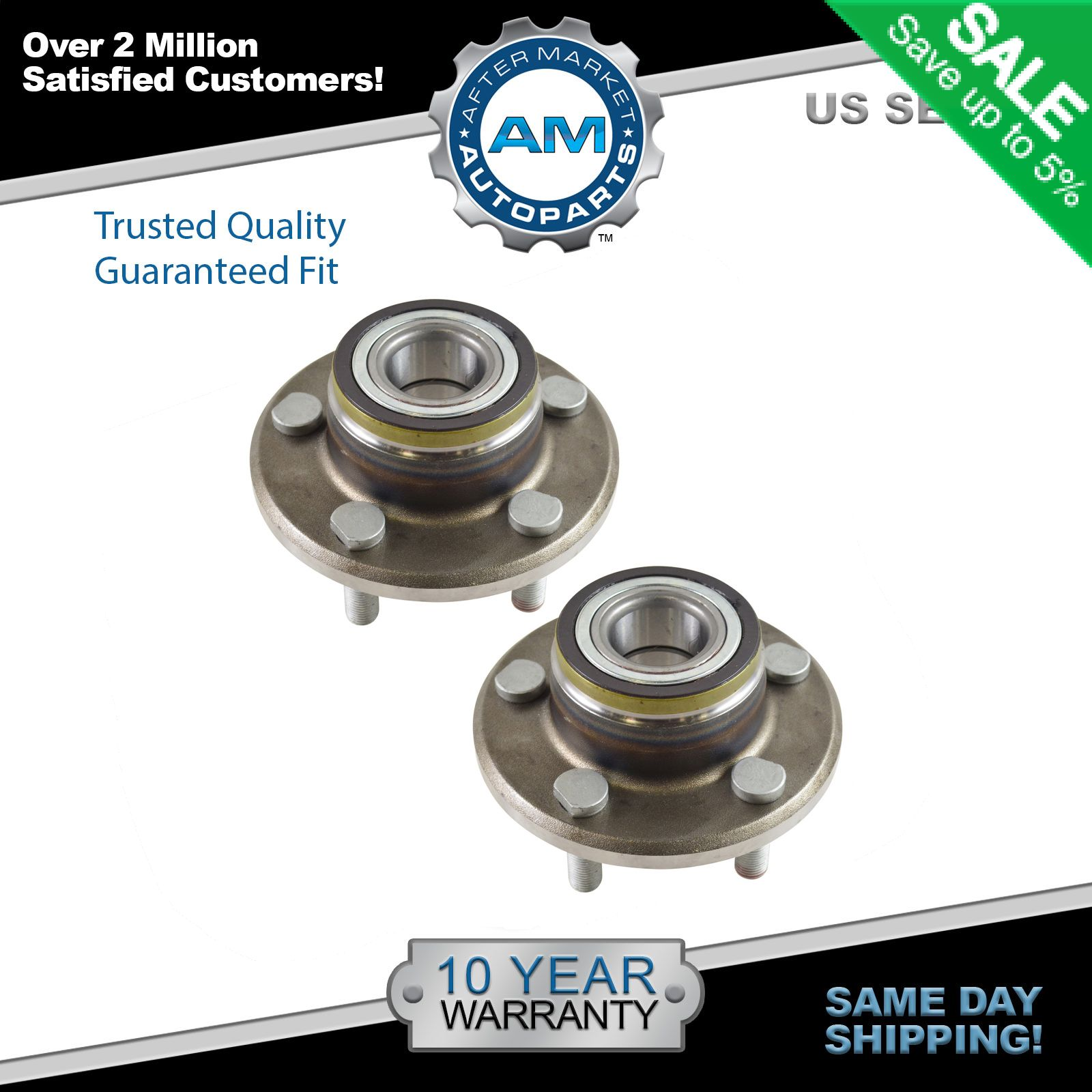 2014 Chrysler 300 Clevis Left Front Suspension Awd: Front Wheel Hub & Bearing Pair For Challenger Charger