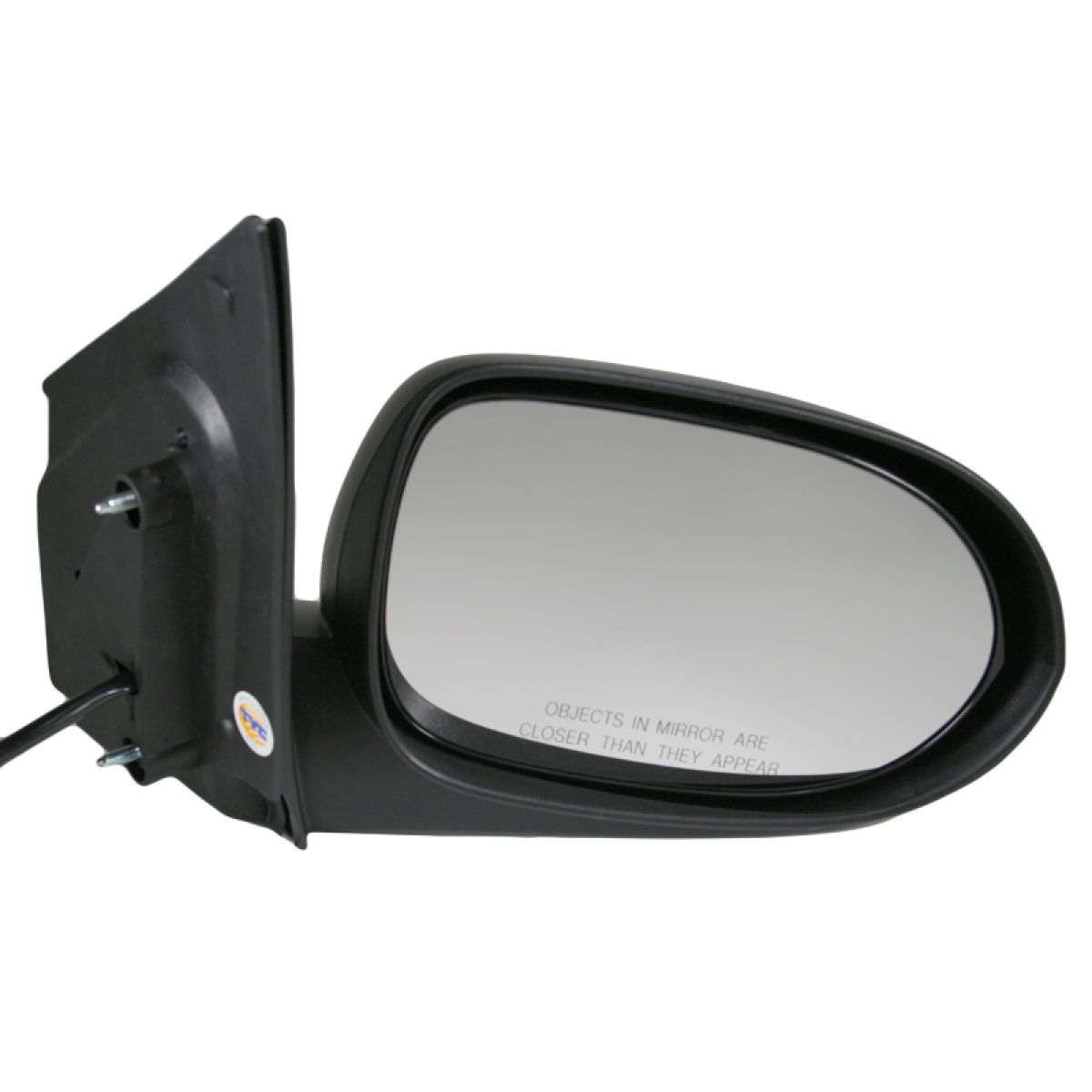 Manual Side View Door Mirror Passenger Right RH for 07-12 Dodge Caliber