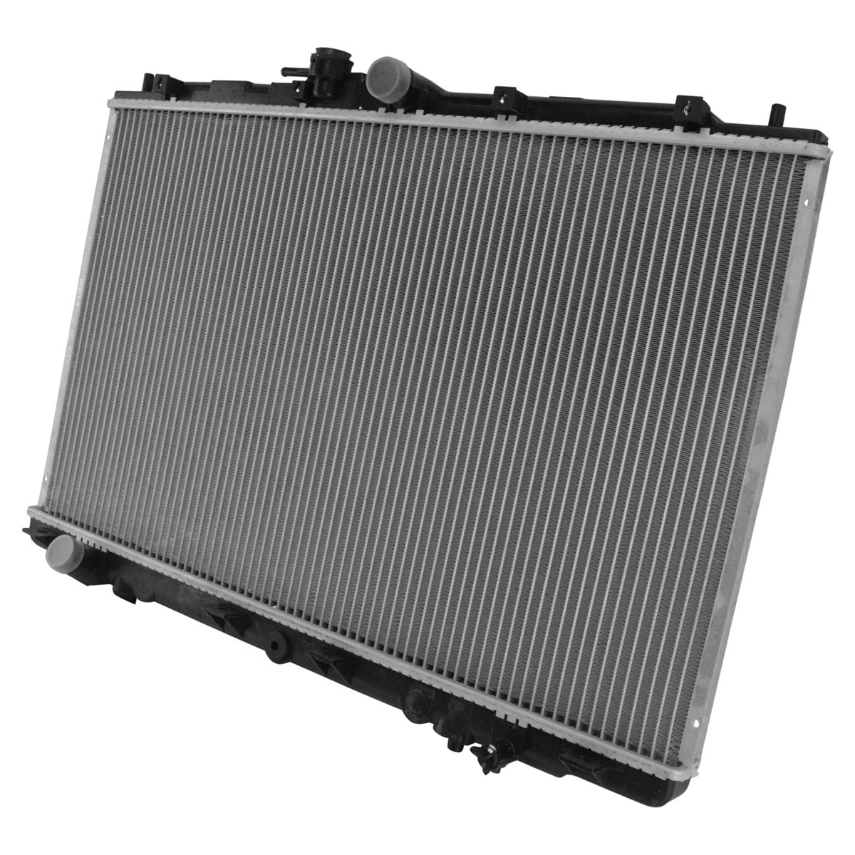Radiator Assembly Plastic Tanks Aluminum Core Direct Fit