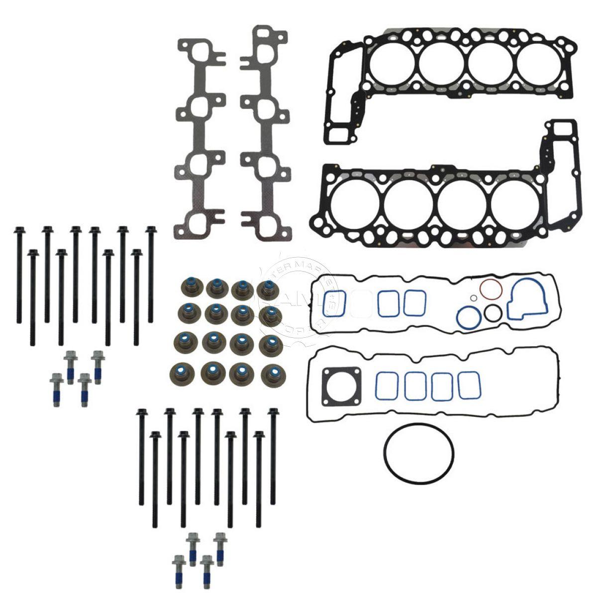 head gasket  u0026 bolt set kit for dakota durango ram 1500