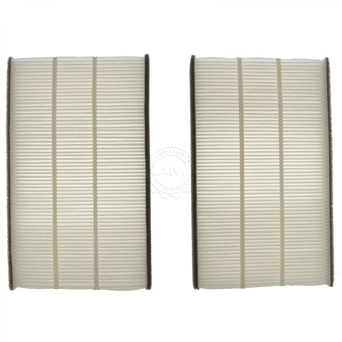 Paper Style Interior Blower Cabin Air Filter Pair Set For